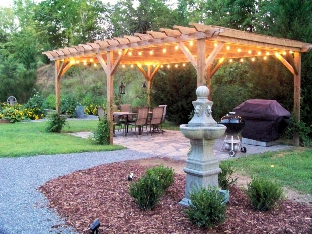 Gorgeous Pergola With Lights Pergola With Lights