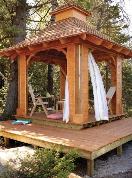 Hot Tub Gazebo Plans Free