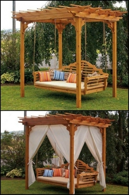 Image of Pergola With Swing 25 Best Ideas About Pergola Swing On Pinterest Patio Swing
