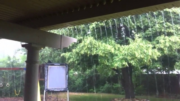 Image of Rain Cover For Pergola Adjustable Louvered Pergola In The Rain Youtube