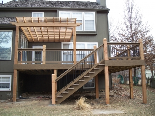 Incredible Decks With Pergolas 25 Best Ideas About Deck With Pergola On Pinterest Wooden