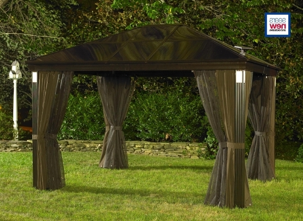 Incredible Gazebo Solar Lights 24 Best Images About Solar Gazebo On Pinterest Solar Lights