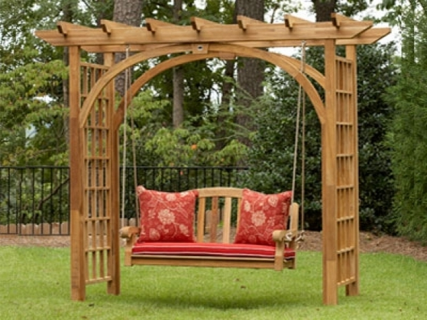 Inspiring Cedar Pergola Swing Image 0 Furniture Co Cedar Pergola Swing Bed Set Item Alf