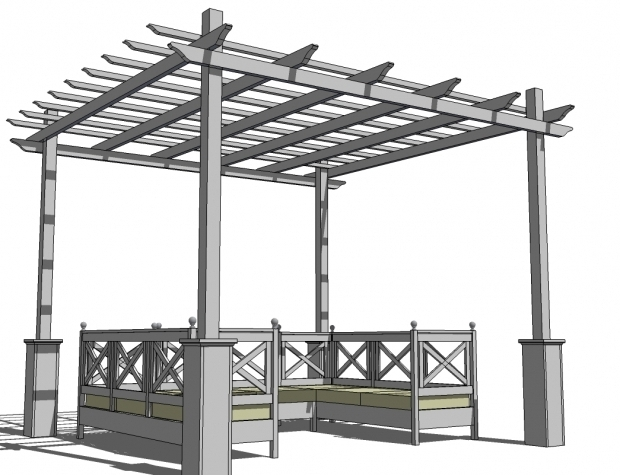 Inspiring Easy Pergola Designs Ana White Weatherly Pergola Diy Projects