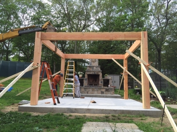 Inspiring How To Build A Pergola Frame Before After Diy Pergola Kit For Rhode Island Fireplace