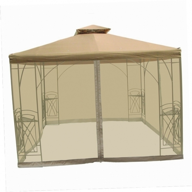 Marvelous 10x10 Gazebo With Netting 10x10 Gazebo With Netting Gazebo Ideas