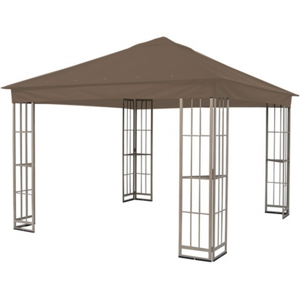 Marvelous Garden Treasures Gazebo Cover Lowes S J 109dn Single Tiered Garden Treasures Gazebo Replacement