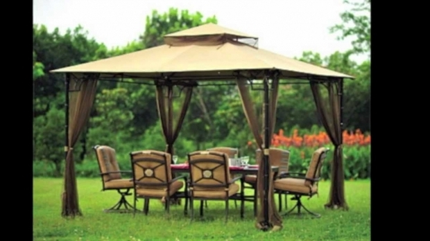 Marvelous Gazebos On Sale At Big Lots Replacement Canopy For Big Lots Bamboo Look Gazebo Youtube