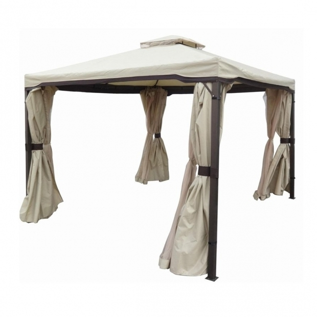 Outstanding 10x10 Hardtop Gazebo Lowes Shop Gazebos At Lowes