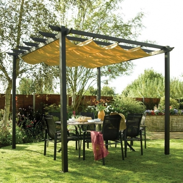 Outstanding Aluminum Pergola With Retractable Canopy Pergola With Canopy Decor References