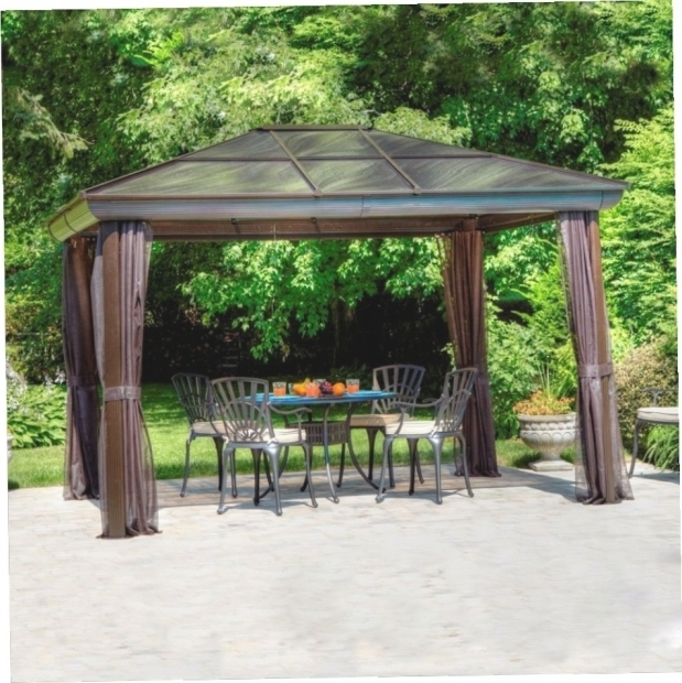 Picture of Allen Roth Steel Gazebo Allen Roth Steel Gazebo Gazebo Ideas