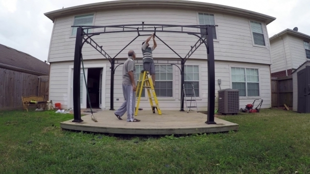 Picture of Gazebo Allen Roth Allen Roth Gazebo Installation 4k Resolution Youtube