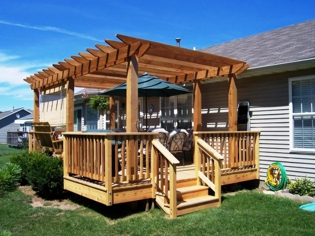 Picture of How To Build A Freestanding Pergola On A Deck Amazing Designs Of Pergola On Deck Patio Design Exterior