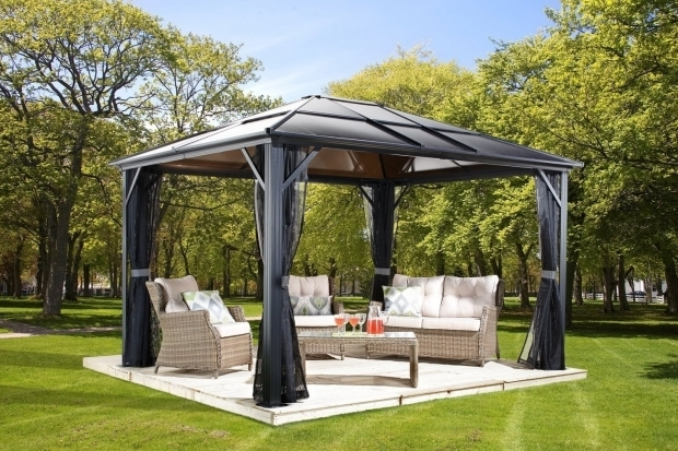 Picture of Metal Roof Gazebo Kits Hardtop Gazebos Best 2017 Choices Sorted Size