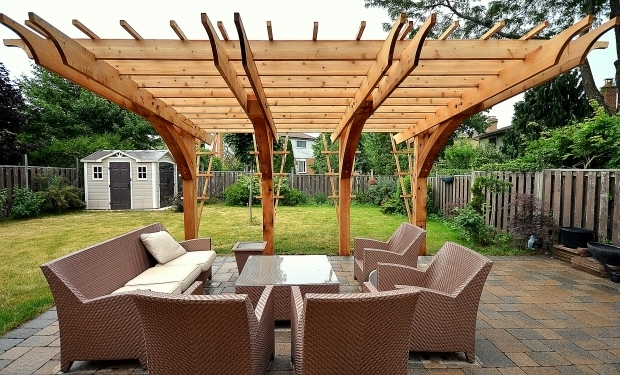 Picture of Pergola Cantilever Churchville Contracting Gallery