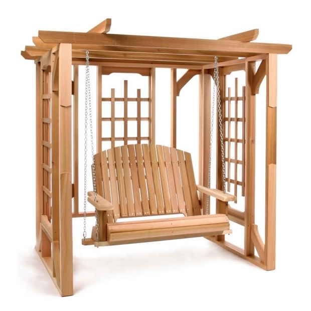 Remarkable Cedar Pergola Swing All Things Cedar Po72 S Cedar Pergola Swing Set The Mine