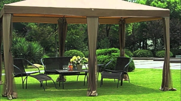 Remarkable Gazebos At Big Lots Big Lots 10x13 Gazebo Replacement Canopy Youtube