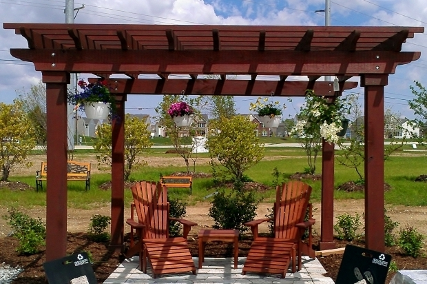 Remarkable Red Cedar Pergola Kits Backyard Pergola Kits Home Outdoor Decoration