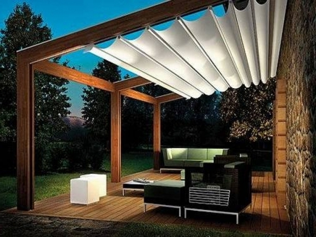 Remarkable Sun Shade For Pergola Modern Lighting Outdoor Canopy And Backyard Pergola Pictures Of