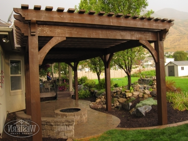 Stunning Gazebo With Fire Pit Inside 17 Early American Outdoor Shade Structures Pergolas Arbors