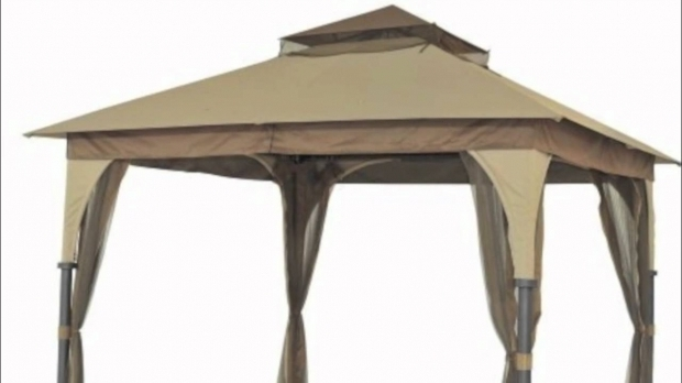 Stylish 8x8 Gazebo Canopy Target Outdoor Patio 8x8 Gazebo Replacement Canopy Youtube