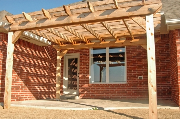 Stylish How To Make A Pergola Attached To House How To Build A Pergola Casual Cottage