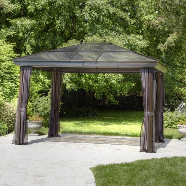 Wonderful 10x10 Hardtop Gazebo Lowes Hardtop Gazebos Lowes Canada