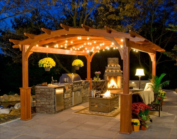Wonderful Gazebo With Fireplace Plans Outdoor Gazebo Plans With Fireplace Download Navpa2016