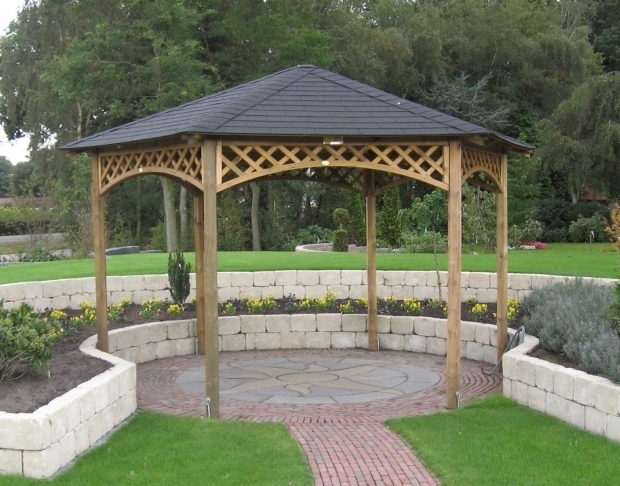 Alluring Cheap Wooden Gazebo 255 Best Wooden Gazebo Kits Images On Pinterest