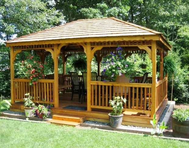 Alluring Gazebo Ideas For Small Backyard Gazebo Ideas Backyard With Gazebo And Deck With Gazebo Backyard