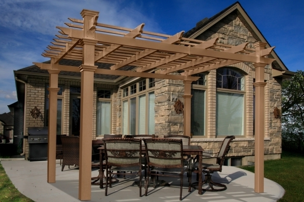 Alluring Vinyl Pergolas For Sale Outdoor Protect And Patio Cover For Enhanced Outdoor Living With