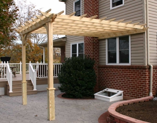 Alluring Wall Mounted Pergola Plans Wall Mount Pergolas Pergolas Mount Gazebocreations