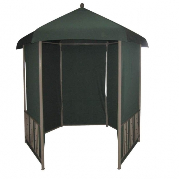 Amazing Dc America Gazebo Dc America 11 Ft X 11 Ft Gazebo Steel Hexagonal With Pull Down