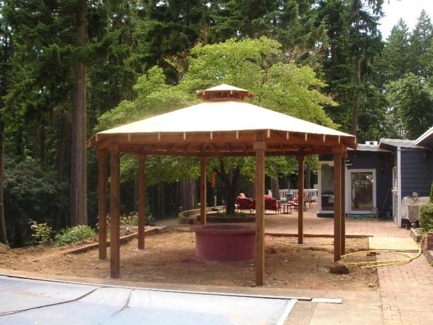 Amazing Outdoor Gazebo With Fire Pit Gazebo Plans With Fire Pit Fire Pit Design Ideas