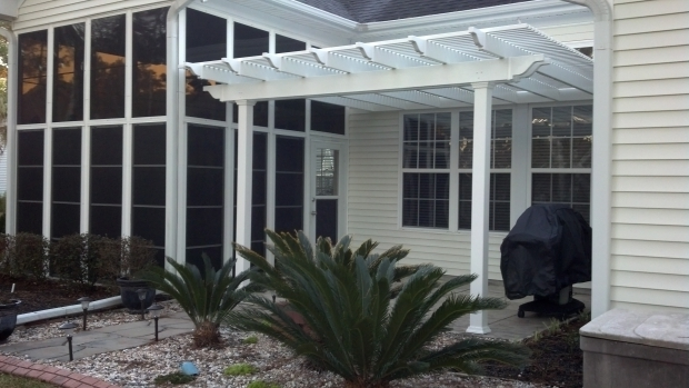Awesome Aluminum Pergola Kits Engineered Vinyl Pergola Kit Patio Cover South Carolina