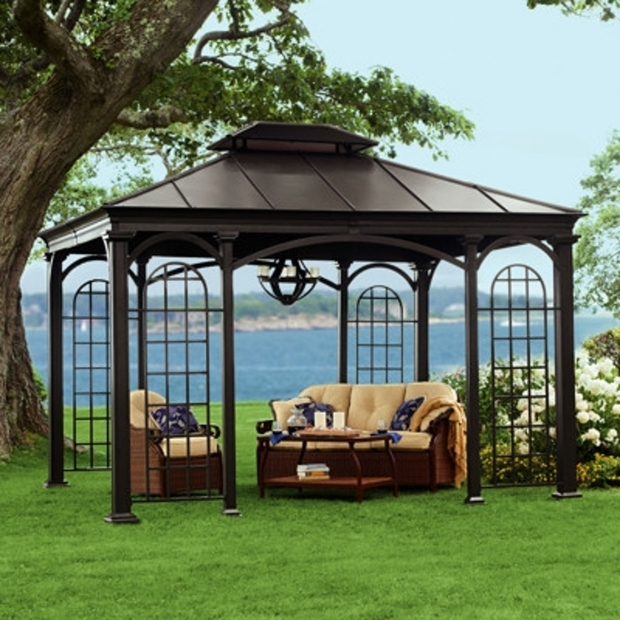 Awesome Grand Resort Hardtop Gazebo Grand Resort Hardtop Gazebo 10 X 12 Panels Dropress Gazebos