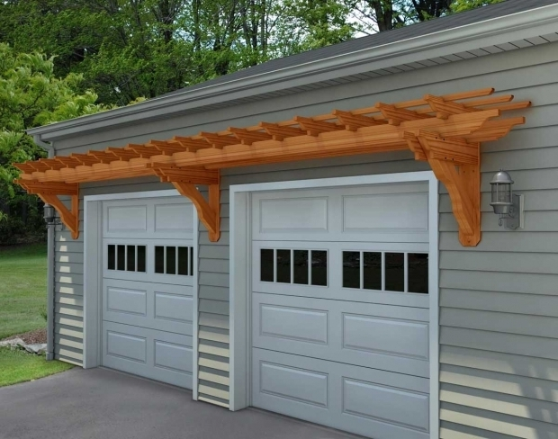 Beautiful Over Garage Door Pergola Pergola Over Garage Garage Door Trellis With Pergola Over Garage