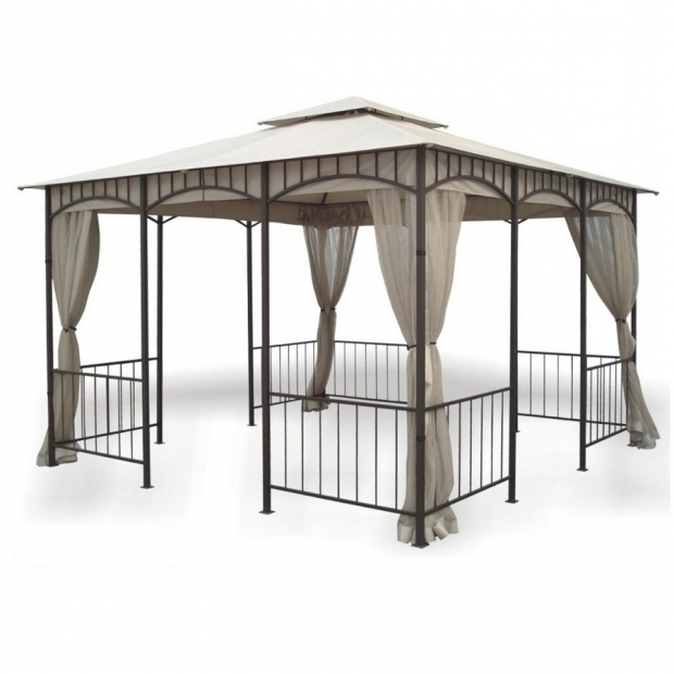 Delightful Dc America Gazebo Shop Dc America Bronze Steel Square Screened Gazebo Exterior