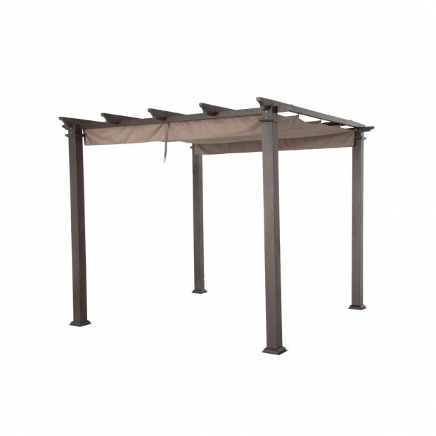 Delightful Replacement Canopy For Pergola Hampton Bay Pergola Replacement Canopy Gfm00467gc The Home Depot