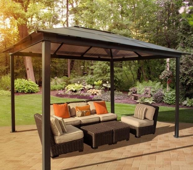 Fantastic Cheap Metal Gazebos For Sale Garden Outdoor Fancy Hardtop Gazebo For Your Outdoor And Garden