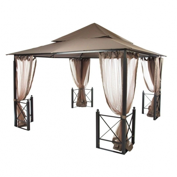 Fantastic Home Depot Gazebo Canopy Hampton Bay 12 Ft X 12 Ft Harbor Gazebo Gfs01250a The Home Depot