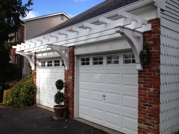 Over Garage Door Pergola