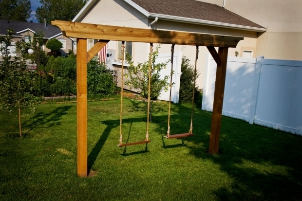 Fantastic Pergola Swing Plans Pergola Swing Set Plans Furnitureplansfurnitureplans Yard Play