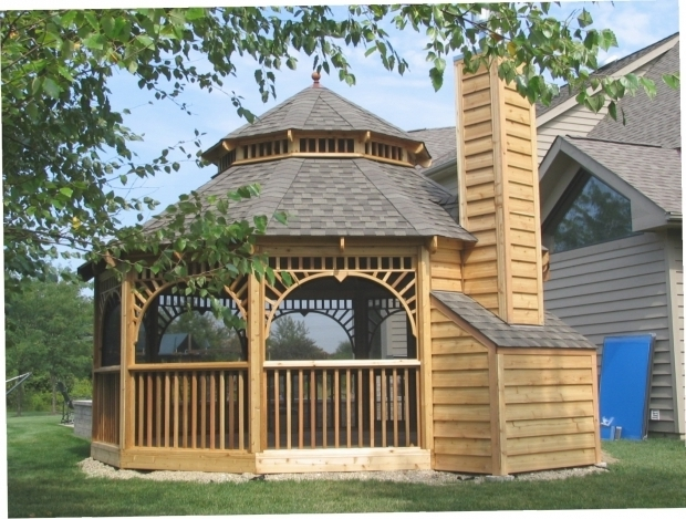 Fantastic Screened Gazebo Kits Magnificent Screened Gazebo Kits Multiplepointspic450h Outdoor