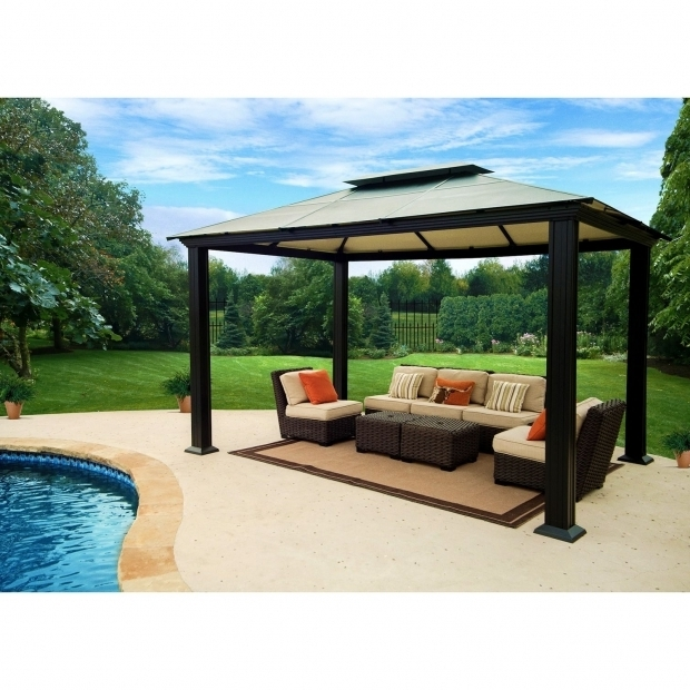 Fascinating Gazebo Sam's Club 189900 Southhampton 10 Feet X 13 Feet Gazebo Outdoor Living