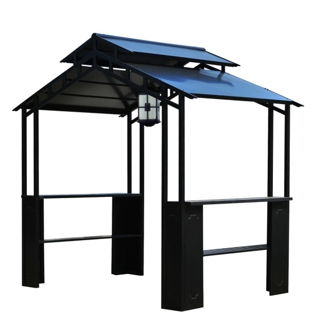 Fascinating Grill Gazebo With Lights Sunjoy Grill Gazebo With Led Lights Proves Whats On Top Matters