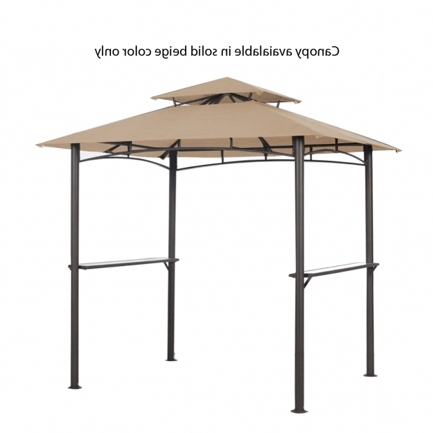 Image of Grill Gazebo Replacement Canopy Pacific Casual Grill Gazebo Replacement Canopy Garden Winds