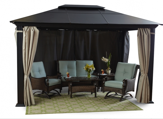 Image of Hardtop Gazebo Clearance Gazebos Patio Furniture Fortunoff Backyard Store