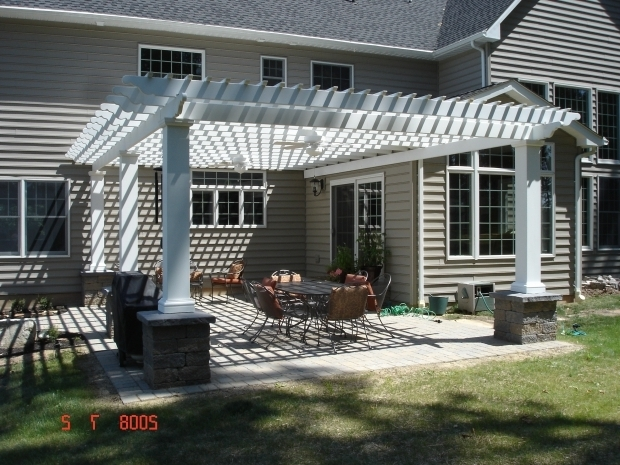 Image of How To Build A Pergola Off The House Pergolas And Panache Design Decks And House