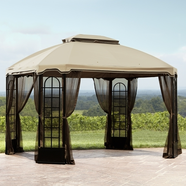 Incredible 10x12 Gazebo Canopy Replacement Outdoor Garden Treasure Gazebo Replacement Canopy Gazebo Canopy